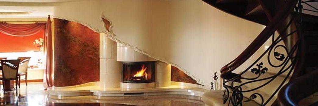 Ogień otoczony sztuką