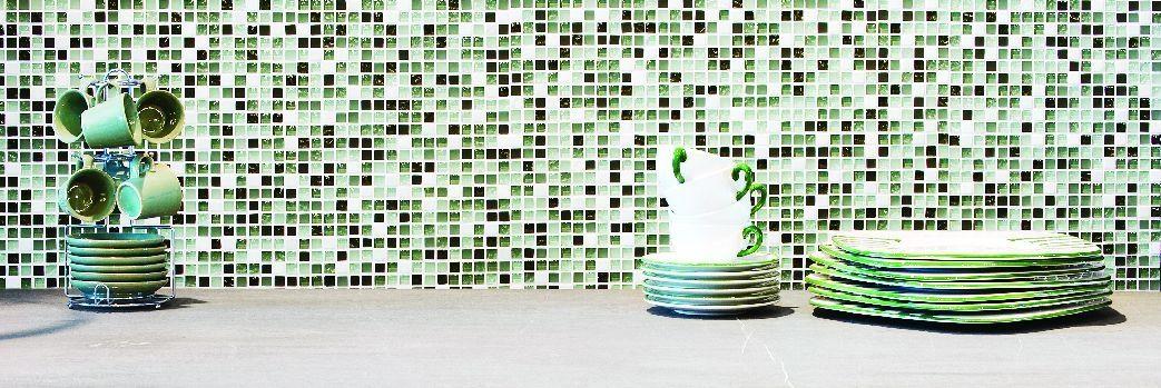Mozaika Szklana I Metalowa W Kuchni Ekskluzywne Wykończenia