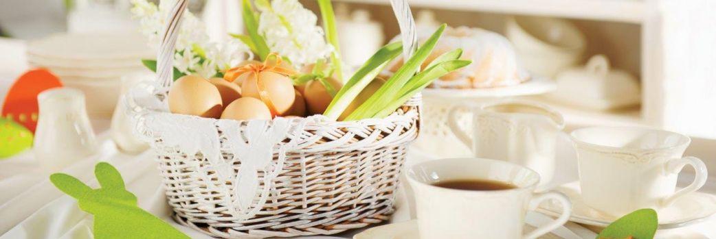 Wielkanocne wnętrze w klasycznej odsłonie