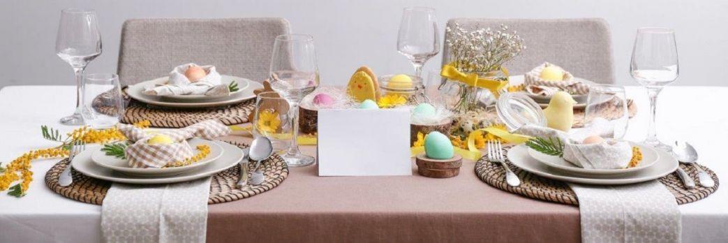 Wielkanocne kompozycje. Świąteczna odsłona jadalni