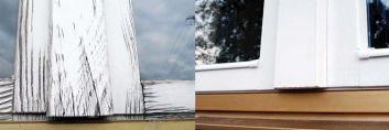 Drewniane okna na nowo