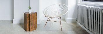 Krzesła nadające charater wnętrzu