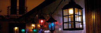 Nowoczesne konstrukcje oświetleniowe na święta