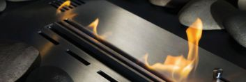 Designerskie źródło żywego ognia