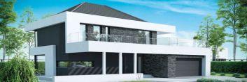 Funkcjonalny dom piętrowy