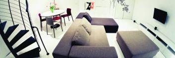 Mieszkanie pary architektów w Krakowie