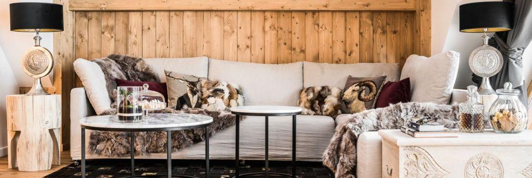 Alpejski glamour. Apartament w góralskim stylu