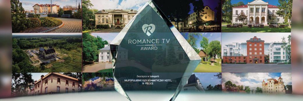 DRUGA EDYCJA ROMANCE TV AWARD – NAGRODA DLA NAJBARDZIEJ ROMANTYCZNYCH HOTELI W POLSCE