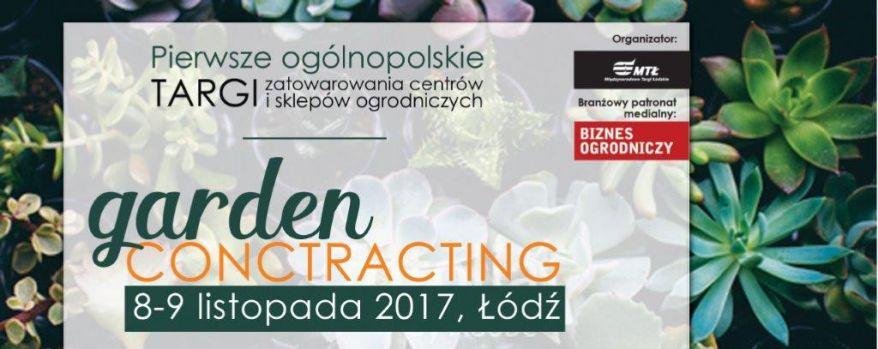 Targi gardenCONTRACTING 2017
