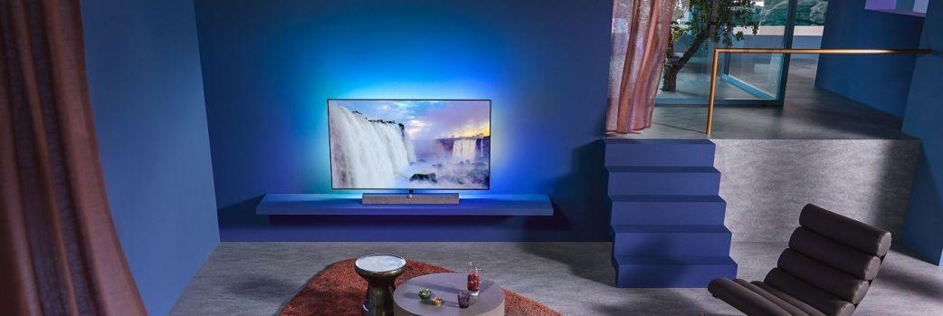 Nowy telewizor premium Philips OLED+935 z doskonałym dźwiękiem od Bowers & Wilkins