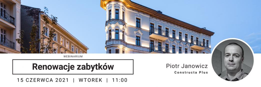 Ogrodowa za głosem serca - Kamienica Żelazko - WEBINAR / 15.06.2021 godz. 11:00