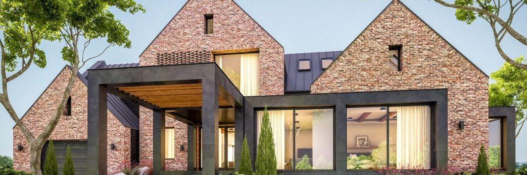 Projekty domów w stylu stodoły /WIDEO/