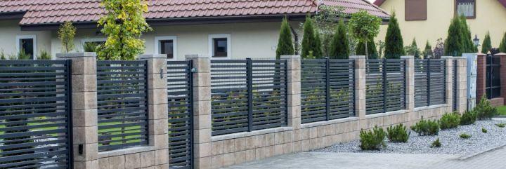 Nowoczesne ogrodzenia