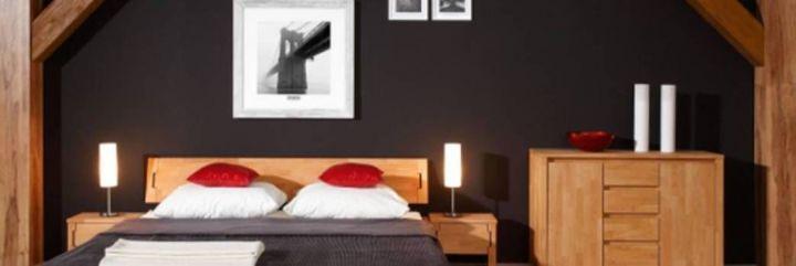 Sypialnia pod skosami