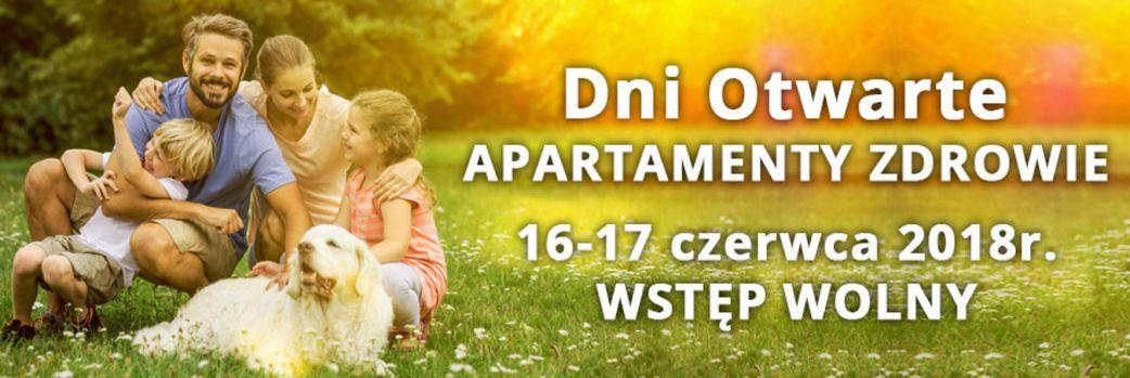 Zaproszenie na Dni Otwarte Apartamenty Zdrowie