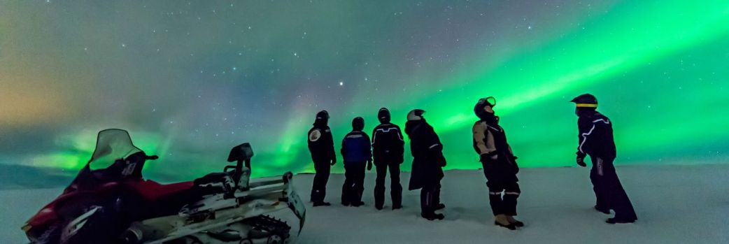 Aurora Borealis. Polowanie na zorzę polarną