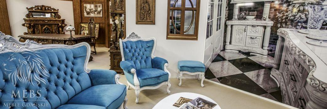 Ręcznie rzeźbione meble w stylu gdańskim, myśliwskim i ludwikowskim