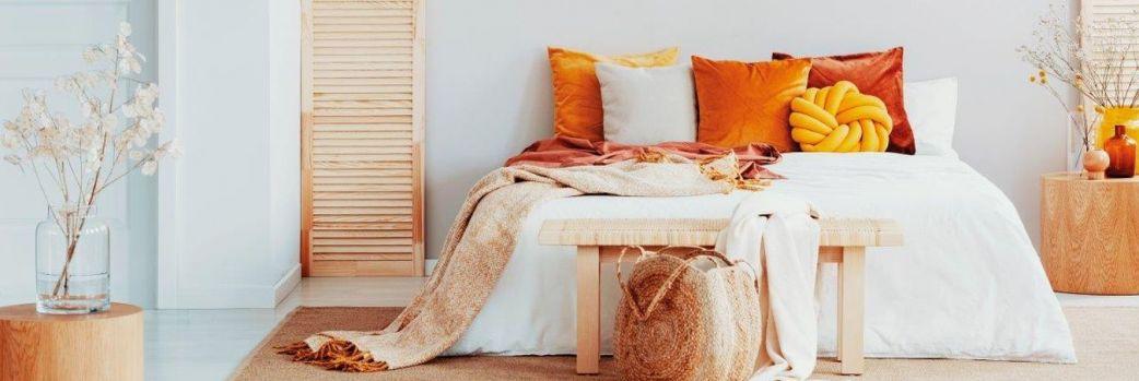 Spokojny sen i rześkie poranki. Sypialnia w naturalnym klimacie