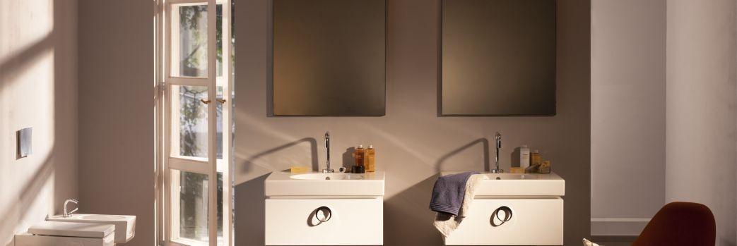 Dwa oblicza łazienki