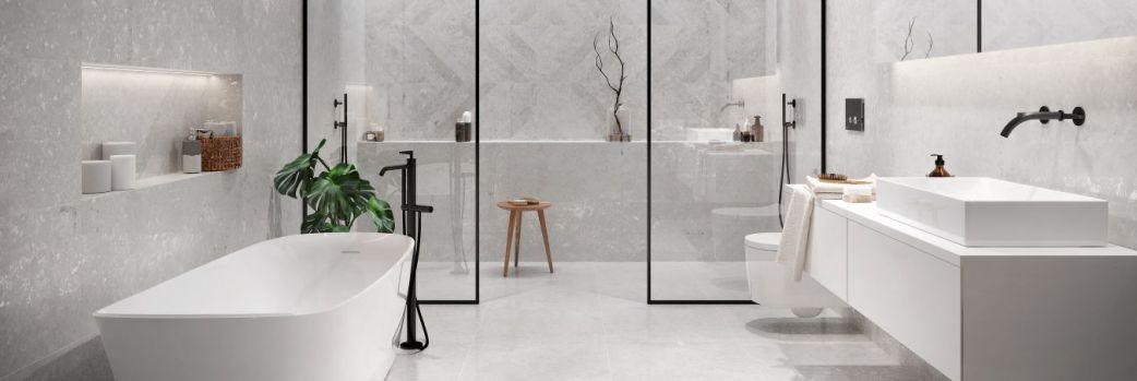 Duży format w łazience – wygoda i design w jednym