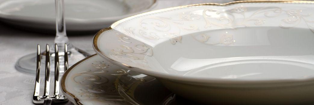 Porcelanowe serwisy