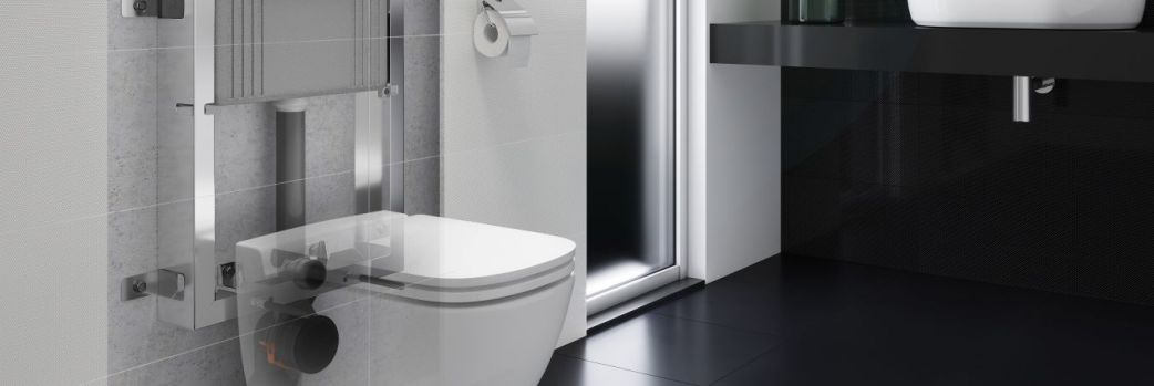 Stelaże podtynkowe AQUA od Cersanit – rozwiązanie do każdej łazienki