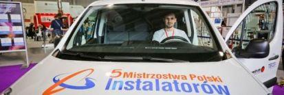Adam Piotrowski z Poznania został Mistrzem Polski Instalatorów 2016!