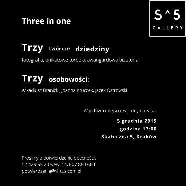 wernisaż three in one