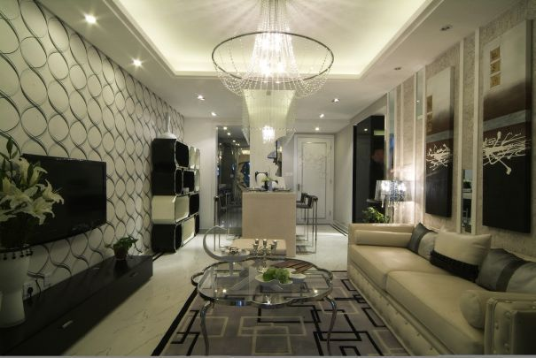 monochromatyczne pomieszczenie