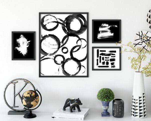 abstrakcyjna dekoracja