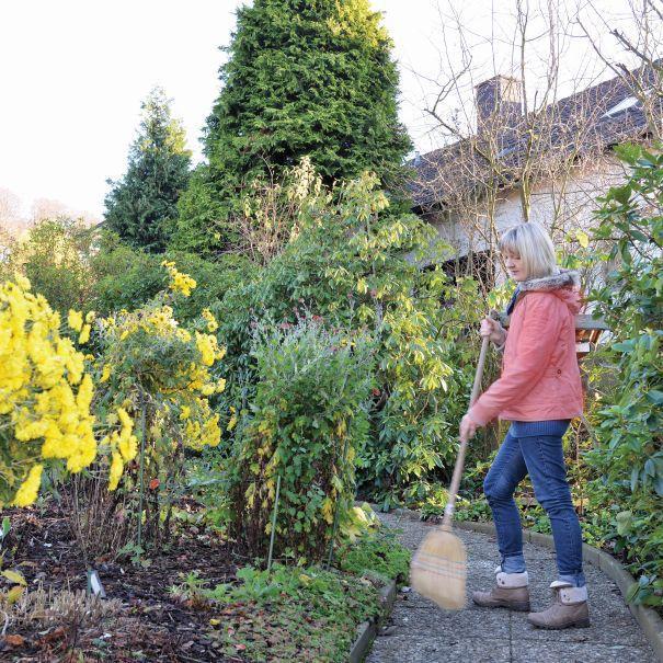 jesienne porządki w ogrodzie