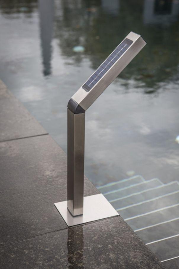 lampa solarna na taras
