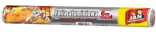 jan niezbędny folia aluminiowa