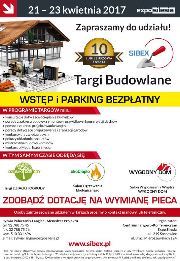 program targów sibex 2017