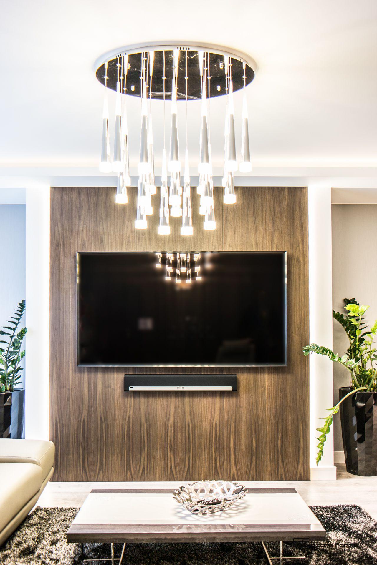 panel ścienny pod tv