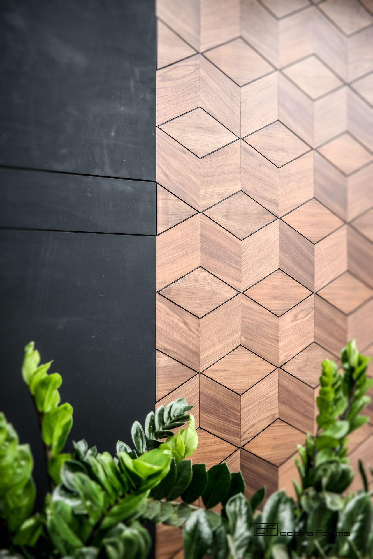 panele drewniane plaster miodu