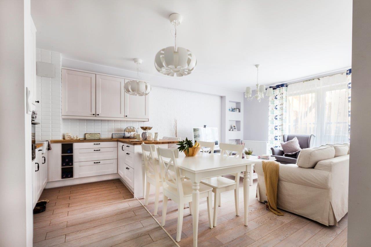 biała kuchnia prowansalska