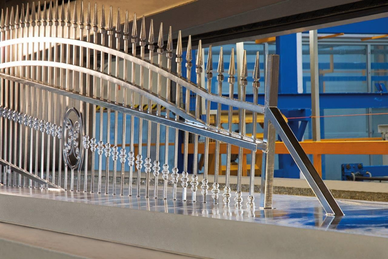 brama stalowa wiśniowski
