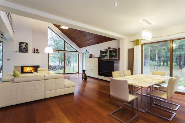 drewniane okna tarasowe