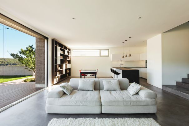 panoramiczne okna tarasowe