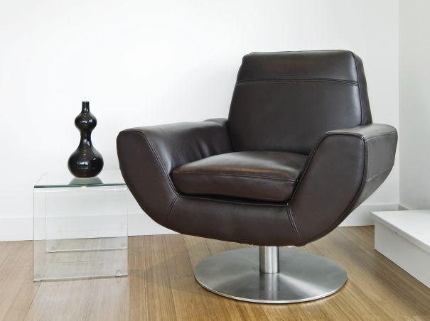 awangardowy fotel do salonu