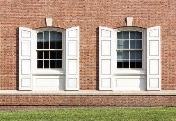 okiennice białe