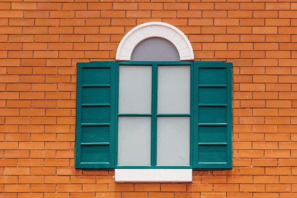 okiennice zewnętrzne
