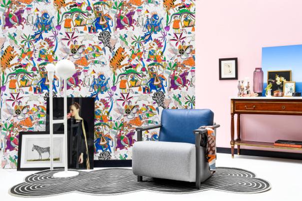 designerski pokój dzienny