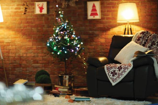 dekoracje bożonarodzeniowe scandi