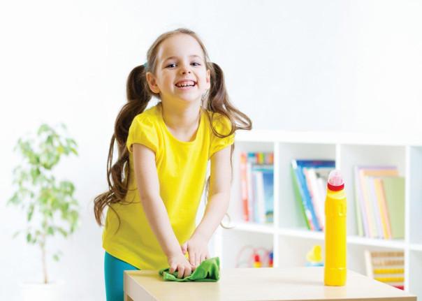 jak nauczyć dziecko sprzątania