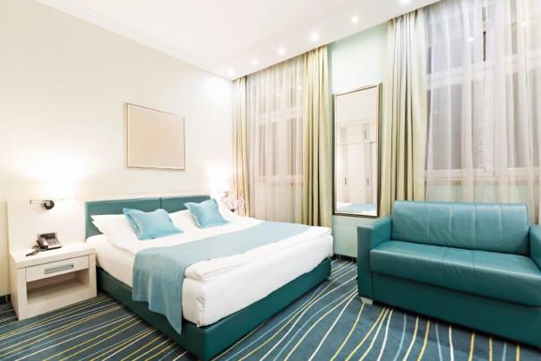 tekstylia w pokojach hotelowych