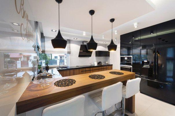 futurystyczna kuchnia