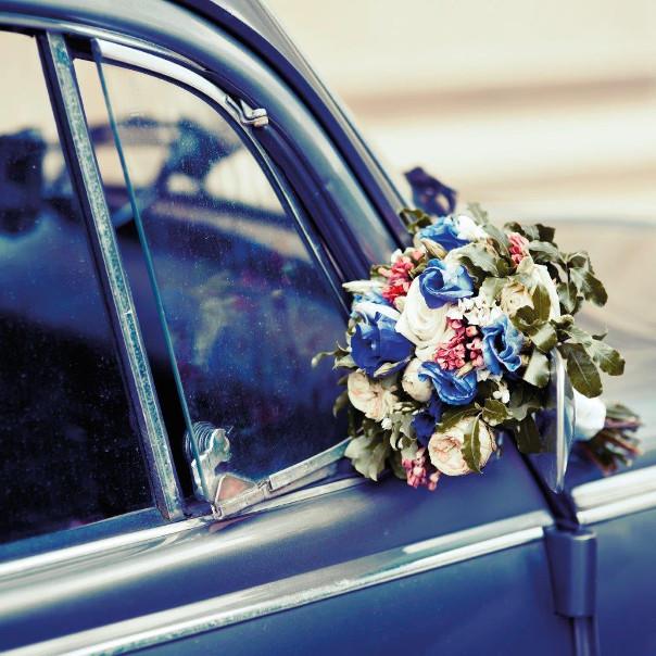samochod na śub vintage