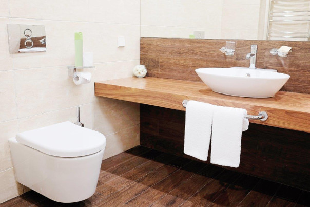 łazienka minimalistyczna